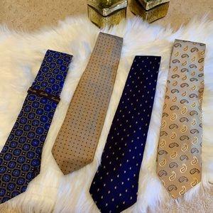 LUXURY MEN'S TIES Bundle - Assorted ALL 💯 % silk!